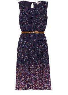 Yumi - Mosaic Print Dress