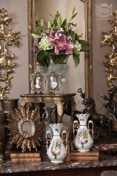 Antique French Accessories| www.inessa.com