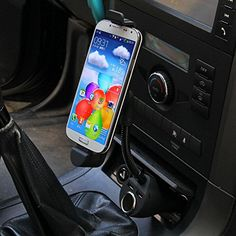 Car Cigarette Lighter Socket +Dual USB Charger + Mount Holder For Iphone6/6 Plus 5 5S 5C http://www.amazon.com