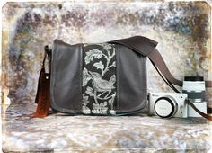 Leather Camera Bag - Mirrorless Compact Camera System Video Bag - Pre-Order