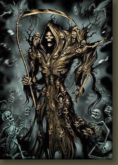 Grim Reaper by 3st0p.deviantart.com on @deviantART