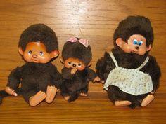1970S Toys | Vintage Monchhichi 1970s Monchichi Sekiguchi Monkey Stuffed, Monkey ...