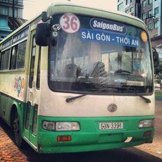 vietnã, ônibus, hochiminh, transportepublico - Vietnã Hoje