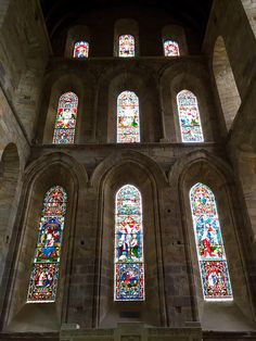 Brinkburn Priory, Northumberland   by colin9007 Nice Things, Things To Do, Cathedrals, Wells, England, Things To Make, English, British, Cathedral