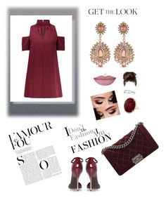 """""""Glamour 😍"""" by girlsbossbio on Polyvore featuring Kurt Geiger, Anne Sisteron, Carolee and Chanel"""