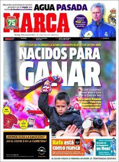 Los Titulares y Portadas de Noticias Destacadas Españolas del 19 de Mayo de 2013 del Diario Deportivo MARCA ¿Que le parecio esta Portada de este Diario Español?