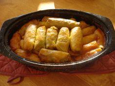 The Real Meal: Ukrainian Cabbage Roll Recipe - Rice Holubtsi