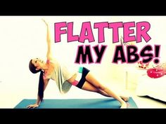 POP Pilates: Flatter my Abs workout! This one is challenging and will hit your upper abs, powerhouse, lower abs, and obliques (love handles and muffintops - bye bye!)