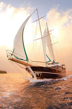 This the picture I think of whenever someone says, let's go sailing. I must have gotten that from Papa. He loved the sea.