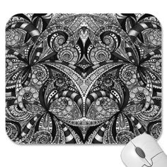 Mousepad Floral abstract background  http://www.zazzle.com/mousepad_floral_abstract_background-144226713995220675
