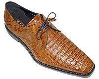 Mezlan # 13765 at AlligatorWorld.com - Exotic Skin Shoes