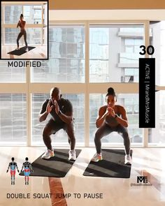 Full Body Hiit Workout, Hiit Workout At Home, Gym Workout Videos, Gym Workout For Beginners, Fitness Workout For Women, Weight Loss Workout Plan, Easy Workouts, At Home Workouts, Weight Lifting