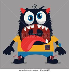 Cute Monsters, Monster Art, Minions, Character Design, Embroidery, Pattern, Kids, Babies, Fictional Characters