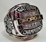 1980 Georgia Bulldogs Ring