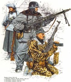 SS Eastern front winter 1941 - 1945