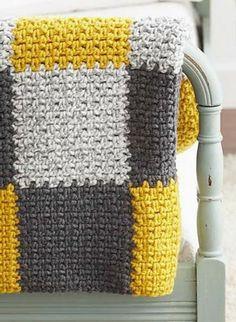 faire un plaid au crochet couvertures crochet plaid crochet et crochet hooks. Black Bedroom Furniture Sets. Home Design Ideas
