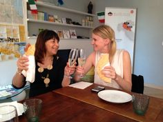 Twitter / @BlogVille Italy: Welcome to #BlogVille #inEmiliaRomagna step2theleft @leena_mari with #Piadina & #Pignoletto wine! Cin cin!