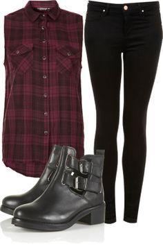 Rockeros Tumblr, Rock Mujer, Outfits Rockeros Mujer, Outfits Casuales, Cosas Asi, Debo Tener, Ponerme, Ropa Oufit, Conjuntos