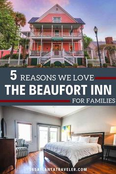 The Beaufort Inn: Your Best Family Option When Exploring Beaufort, SC [Video] -- When you visit Beaufort, SC - the South's most charming city - you shouldn't accept anything less than equal fame for your accommodations. And you shouldn't have to settle for less just because you're bringing the entire family. Here are five reasons we adore The Beaufort Inn for families, and why we think you should stay here on your South Carolina weekend getaway. Top Family Vacations, Family Travel, Beaufort Inn, South Carolina Vacation, Best Location, Travel With Kids, Weekend Getaways, Vacation Ideas, Cool Places To Visit