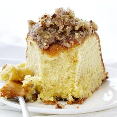 A perfect buttery pound cake with the most delicate crumb is topped with a pecan butter glaze. It's a SHOWSTOPPER! Pumpkin Butter, Butter Pecan, Caramel Apple Cheesecake, Caramel Apples, Fun Desserts, Dessert Recipes, Delicious Desserts, Butter Pound Cake, Kentucky Butter Cake