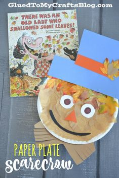 Paper Plate Scarecrow - Kid Craft