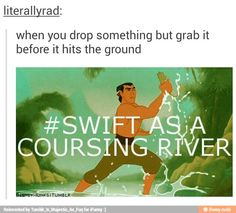 Bahaha this has been me lately though. I've been catching stuff that I drop like crazy.