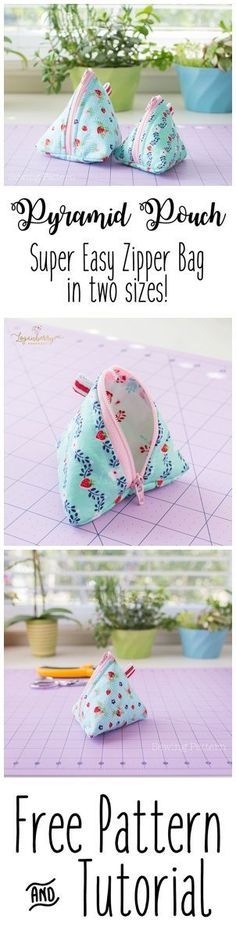 Pyramid Pouch Sewing