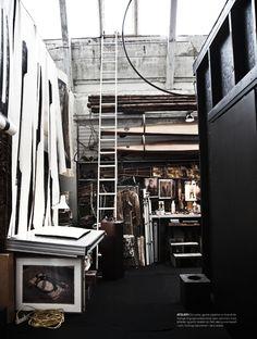 Méchant Studio Blog: artist studio
