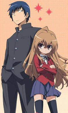 Toradora- cutest romantic comedy i recommend if you like romantic comedy. So this about a guy is mistaken for some bully and an adorable girl who has a big reputation rate 6/10