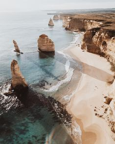Australia's coastline. Photo by @annietarasova