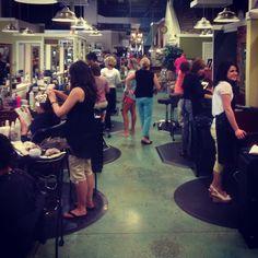Summerset Salon in action....