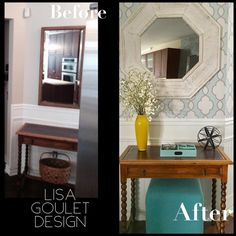 ENTRY WAY  TRANSFORMATION –  FROM BLAH TO FAB