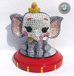 Custom Funko Pop Crystal Dumbo Clown Figure by TeamSuperAwesomeArt