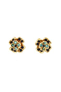 Blossom Earrings in Sapphire