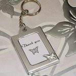 Butterfly key chain photo frames
