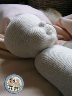 Madeline - cloth baby doll by Lalinda.pl (under the doll's skin)