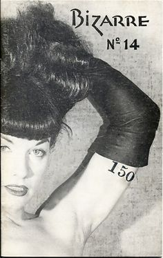 Bettie Page, Bizarre Magazine, 1950s