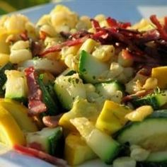 """Corn and Zucchini Melody 
