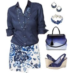 Like the blue tones as a big change from my usual black pants. 70s Fashion Pictures, Fashion Outfits, Womens Fashion, Fashionable Outfits, Fashion Sets, Casual Wear, Work Wear, What To Wear, Fashion Looks