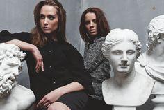 """LOULU ET TU"" photoshoot   #photoshoot #nerijus #paluckas #photography #model #female #clothing #fashion #style #gintarenavickaite #ievamarijaandrulyte #vaidavenskute #collection #autumn #2013 #industryfiles"