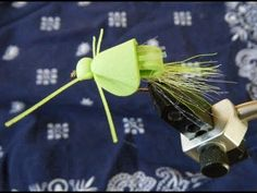 Tying the Stealth Bomber Fly - YouTube