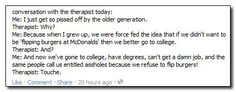 """5 Reasons why older generations screwed up the """"Occupy Wallstreet"""" generation...and they're very valid points. #OccupyWallstreet"""