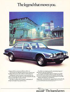 1984 Jaguar XJ XJ6 Euro UK - Original Advertisement Car Print Ad J374
