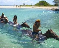 A Jamaican western wedding from Braco Stables which used to be a sugar plantation. Looks like fun  www.bracostables.com.jm