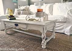 Shabby Little Coffee Table Cycling Coffee and Originals