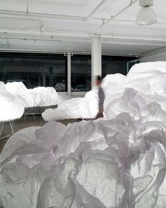 Para el Toronto Design Offsite Festival 2013 el estudio de diseño Mason Studio ha creado una instalación que desafía el ruido de nuestra vida...