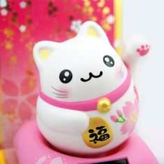 Maneki neko, the Lucky Cat ❤