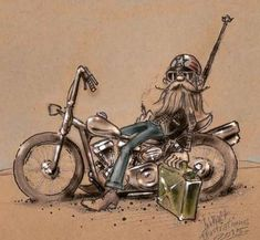 Ideas For Motorcycle Concept Art Harley Davidson Biker Tattoos, Motorcycle Tattoos, Motorcycle Art, Bike Art, David Mann Art, Drawn Art, Harley Bikes, Lowbrow Art, Cycling Art