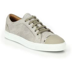 Louis Leeman Stamped Python Nubuck Suede Low-Top Sneakers : Louis... ($790) ❤ liked on Polyvore featuring men's fashion, men's shoes, men's sneakers, apparel & accessories, silver, mens suede shoes, mens low profile sneakers, mens suede sneakers, mens low profile shoes and mens nubuck shoes