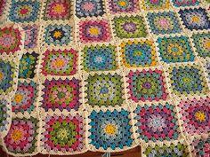 Ravelry: DonaMaria's Granny Squares Blanket
